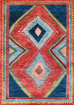 Barakat Gabbeh Rug at The Magic Carpet.
