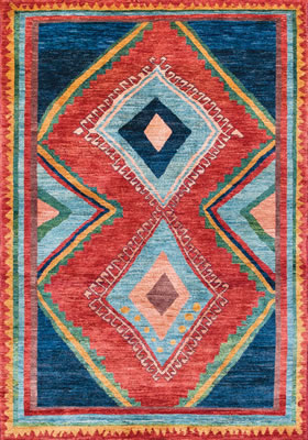 Barakat Rug at The Magic Carpet.
