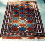 DOBAG Oriental Rug. Hand spun, hand carded wool and vegetable dyes.