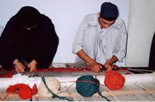 Afghan Ersari Weavers
