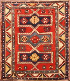 Semi antique Caucasian Fachralo Kazak. circa 1920