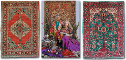 The Magic Carpet Fine Oriental Rugs.  Paul and Eileen Jorgensen