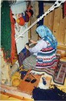 DOBAG weaver creating a lasting beauty at The Magic Carpet