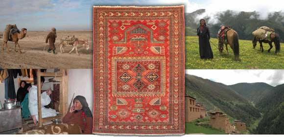 A JOURNEY - NATURE, WEAVERS AND THE CARPETS