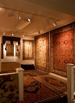Our gallery of Hand made Oriental rugs.