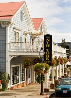 The Magic Carpet in downtown Nevada City.  Fine hand made Oriental rugs.