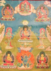 """8029 Nepal Buddha 02'00""""X03'05"""""""