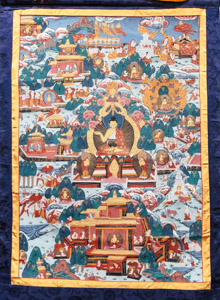 """8033 Nepal Buddha 02'01""""X03'02"""""""