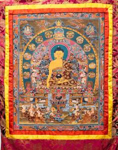 """8037 Nepal Buddha 02'05""""X03'09"""""""