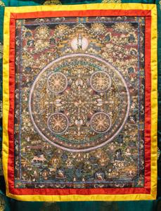 """8039 Nepal Mandala 02'05""""X03'08"""""""