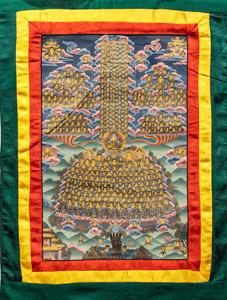 """8043 Nepal Buddha 01'09""""X02'10"""""""