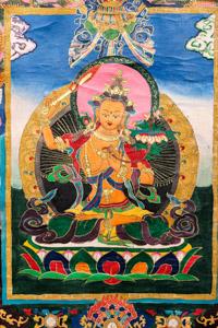 """8053 Nepal Buddha 01'10""""X03'00"""""""