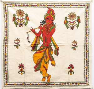 "1835 India Wall Hanging 02'07""X02'07"""