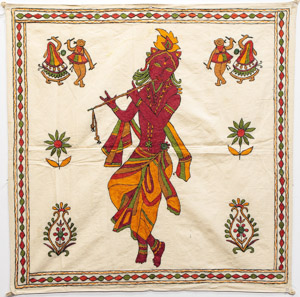 "1836 India Wall Hanging 02'07""X02'07"""