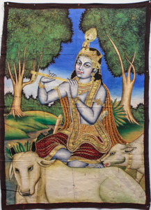 """8056 India Wall Hanging 02'09""""X03'09"""""""